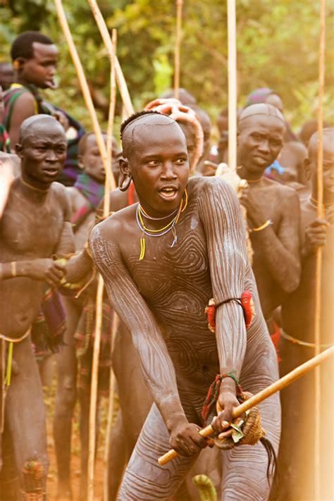 115   Surma warrior at donga stick fighting | Flickr ...