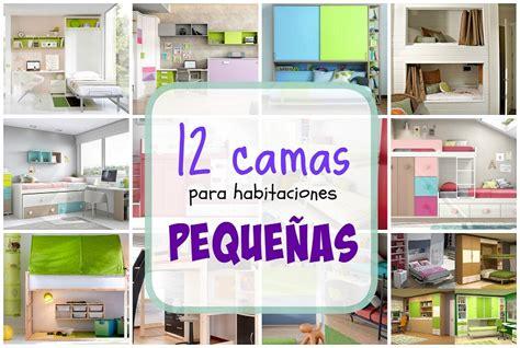 12 Camas para habitaciones pequeñas