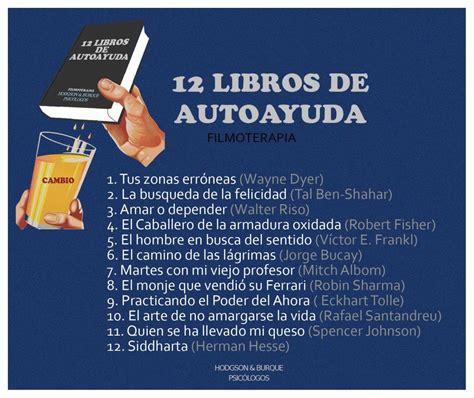 12 libros recomendados de autoayuda - FILMOTERAPIA