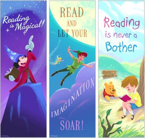12 marcapáginas para imprimir gratis a los niñ@s de Disney