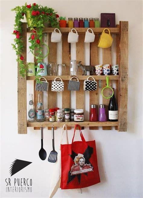12 muebles hechos con palets para cocinas   cocinas con ...