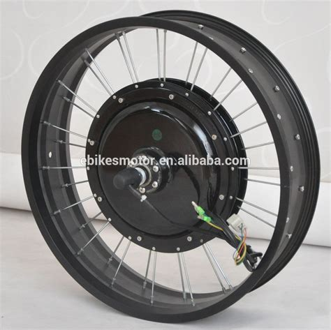 120kph! 5000w Electric Bicycle Motor Wheel For Fat Bike 6 ...