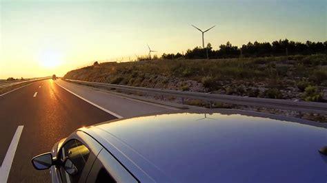 #12774, Viajando en carro al atardecer [Efecto], Viajes en ...