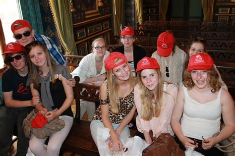 "13 DUTCH STUDENTS VISIT MAZARRÓN OF HAND OF I.E.S. ""FELIPE II"""