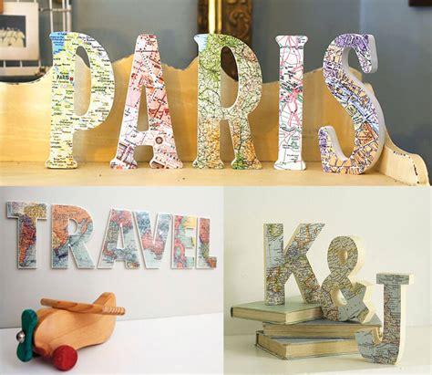 13 Ideas creativas para decorar tu casa con mapas