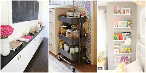 13 IKEA Storage Hacks - Storage Solutions With IKEA Products