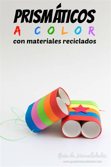 14 manualidades para reciclar tubos de cartón - Guía de ...
