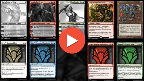 140 Dominaria Spoilers - Magic the Gathering Cards - YouTube