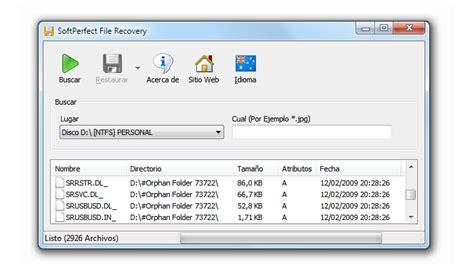 15 aplicaciones gratis para recuperar archivos borrados ...