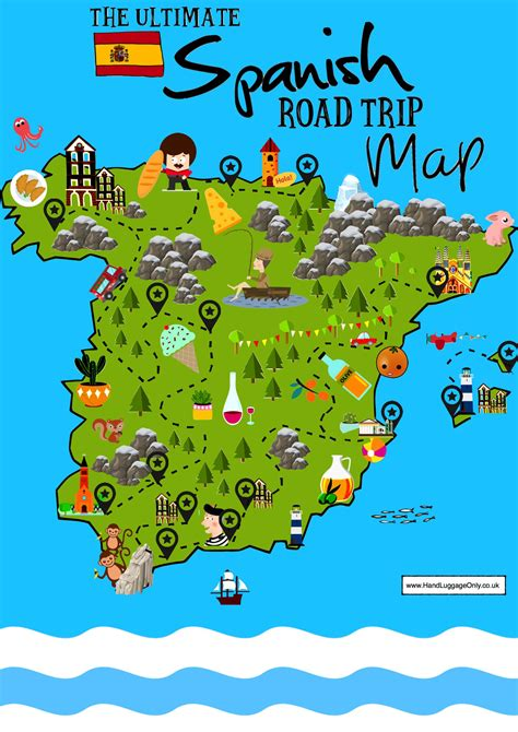 15 Beautiful Places To Visit In Spain - Interactive Map ...