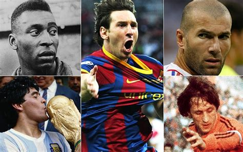 15 Best Soccer Players of All Time ft. Maradona, Pele and ...