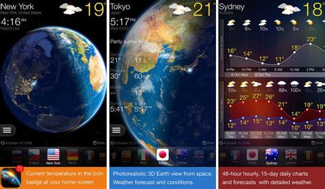 15 días de pronóstico del tiempo con WEATHER NOW, la app ...