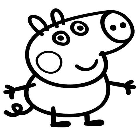 15 Dibujos Para Colorear Gratis De Peppa Pig