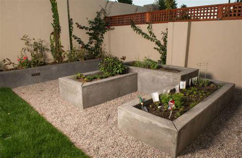 15 diseños con jardineras de hormigón para el exterior ...