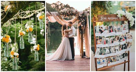 15 ideas infalibles de decoración para tu boda