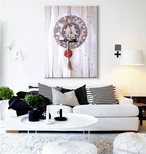 15 ideas para decorar con cuadros