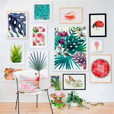 15 ideas para decorar tus paredes - Mi Casa