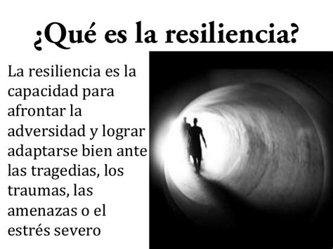 15 la resiliencia
