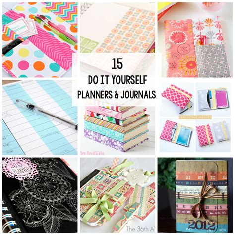 15 Planners & Journals to Make or Print at Home   Crazy ...