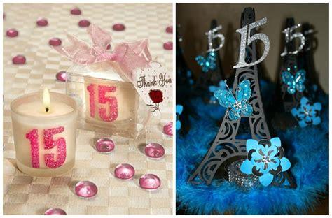 16 Centros de mesa e ideas de decoración para fiesta de 15 ...