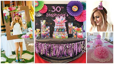 16 Ideas para decorar una fiesta de cumpleaños número 30 ...