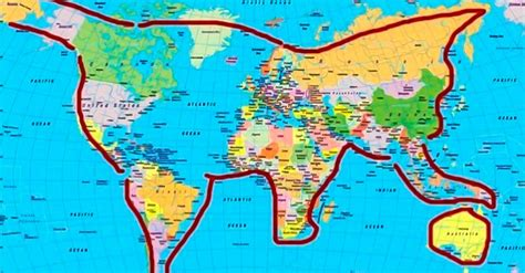 16 mapas que te harán ver distinto al Mundo