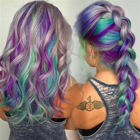 16 Rainbow Hair Color Ideas You ll Go Crazy Over