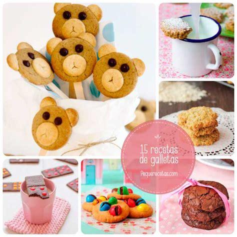 16 recetas de galletas, ¡os conquistarán! - PequeRecetas