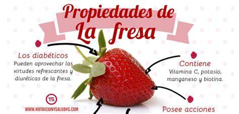 17 beneficios de la fresa ⋆ Nutrición y Salud Y G