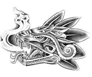 17+ best ideas about Aztec Tattoo Designs on Pinterest ...