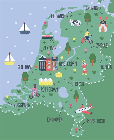 17 Best ideas about Netherlands Map on Pinterest | Holland ...