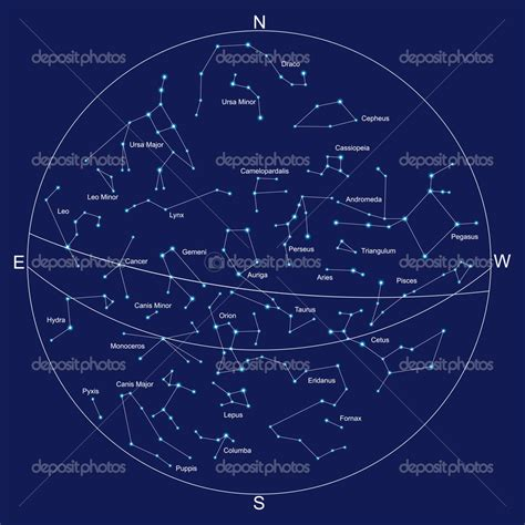 17 Constellation Map Vector Images - Constellation Map ...