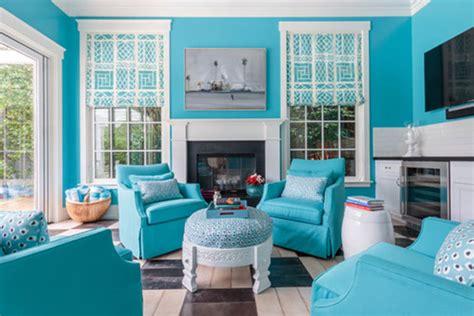 17 ideas para decorar y pintar un salón turquesa | Mil ...