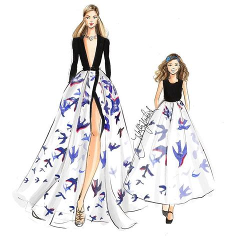 17 mejores ideas sobre Bocetos De Diseño De Moda en ...