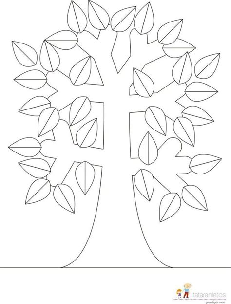 17 mejores ideas sobre Plantillas De Árbol Genealógico en ...