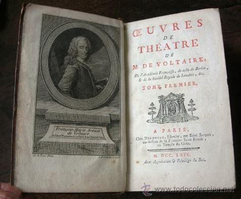1764   obras de teatro de voltaire   5 tomos     Comprar ...
