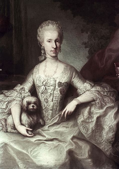 1765 Emperatriz Maria Luisa de Borbón by Martin van ...