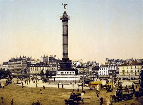 1789 - Place de la Bastille à travers les âges - Paris ...