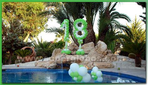 18 AÑOS AL AIRE LIBRE | Decoración con Globos para Eventos ...