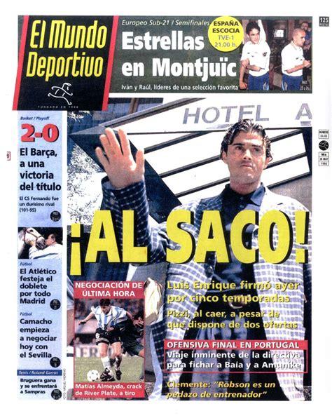 18 años del fichaje de Luis Enrique como jugador - FC ...