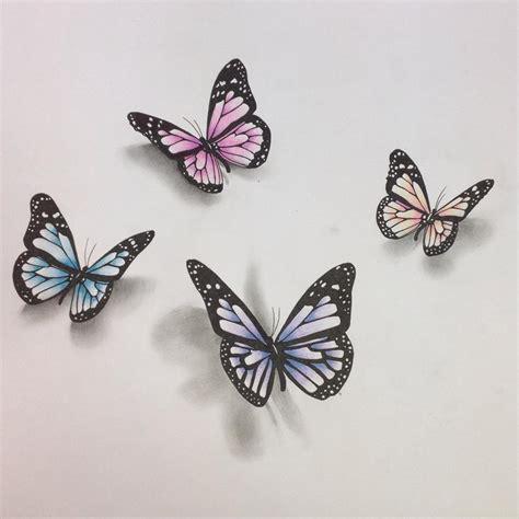 18+ Butterfly Drawings, Art Ideas | Design Trends