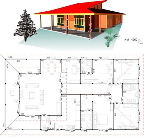 18 Planos de casas de madera   Planos y Fachadas   Todo ...