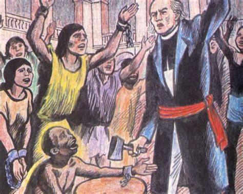 1810: El cura Miguel Hidalgo declara la abolición de la ...