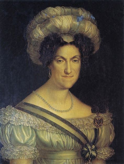1828 1831 Maria Cristina, Queen of Sardinia by ?  Villa d ...