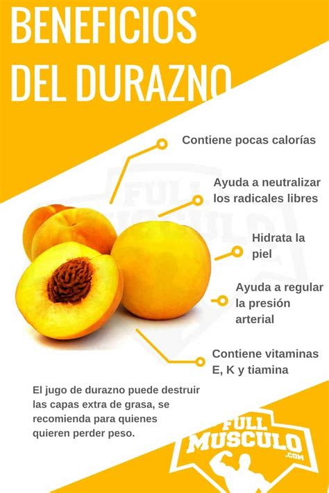 19 Impresionantes Beneficios Y Propiedades Del Durazno ...