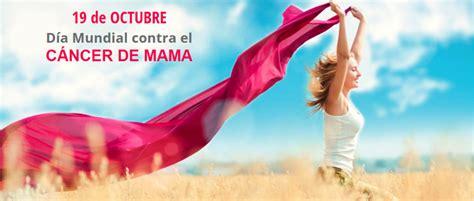 19 octubre dia mundial cancer de mama
