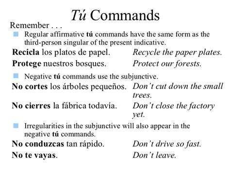 19 tú commands