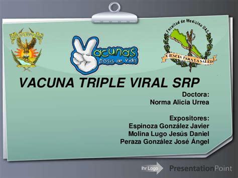 19. Vacuna triple viral