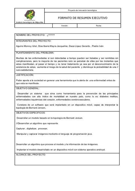 19027078 formato-de-resumen-ejecutivo-para-presentacion-de ...