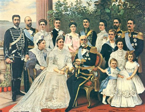 1905 Swedish royal family by ? | Grand Ladies | gogm